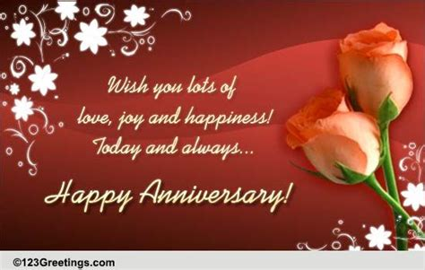 Anniversary Message For World Nest Jiju by Anniversary Cards Free Anniversary Wishes Greeting Cards