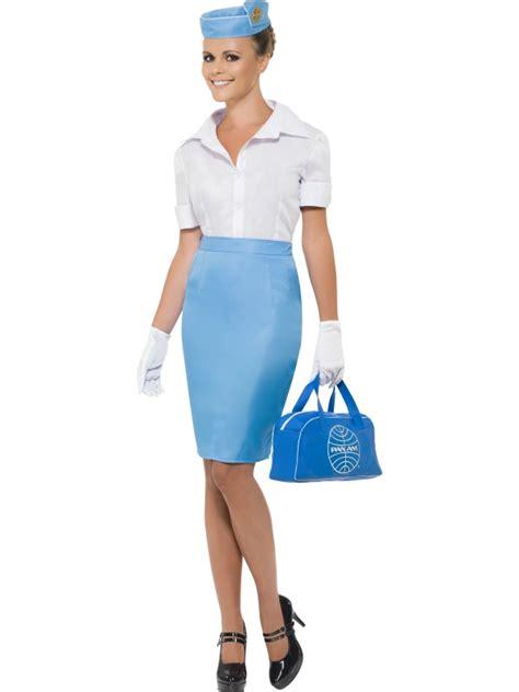 fancy dress costumes plymouth pan am stewardess costume air hostess