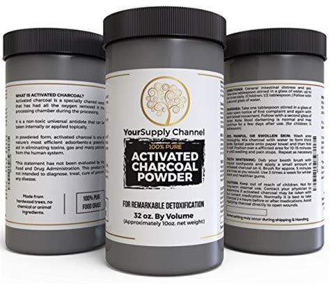 Activated Charcoal Detox Reviews by Activated Charcoal Powder Food Grade For Detoxification