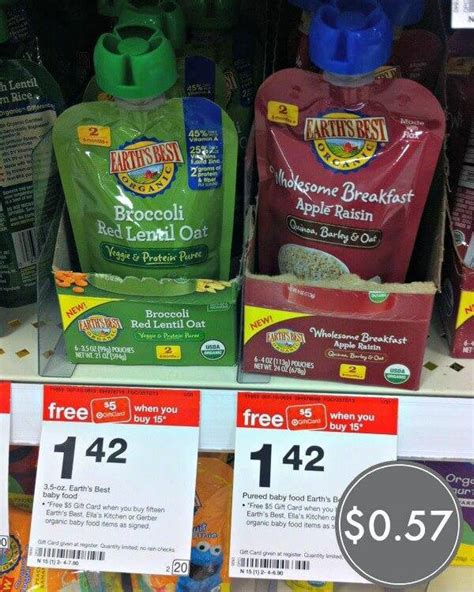 printable grocery coupons for organic foods printable earth s best organic baby food coupons pouches