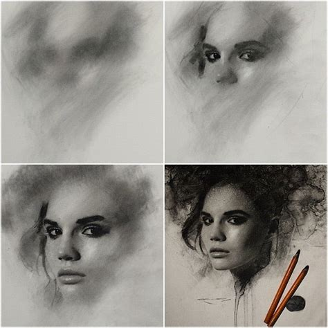 Drawing With Charcoal by Stunning Charcoal Drawings On Paper By Casey Baugh