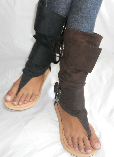 high top flat sandal summer boot shoes