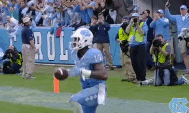carolina football gif by unc tar heels find & share on giphy