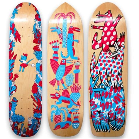 Skateboard Design Ideas by 15 Awe Inspiring Skateboard Designs Creative Bloq