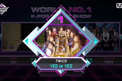 twice yes or yes win watch twice takes 2nd win for yes or yes on m