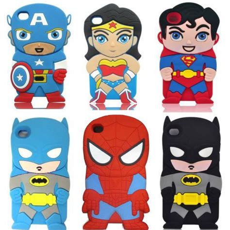 Iphone 5 Avenger 3d Rubber Berkualitas buy 2015 marvel comics heros batman wolverine silicone phone cases apple iphone