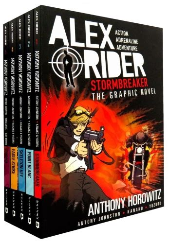stormbreaker book report alex rider collection 5 graphics books set by anthony