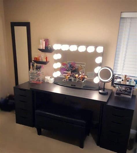 black vanity desk ikea best 25 black makeup vanity ideas on black
