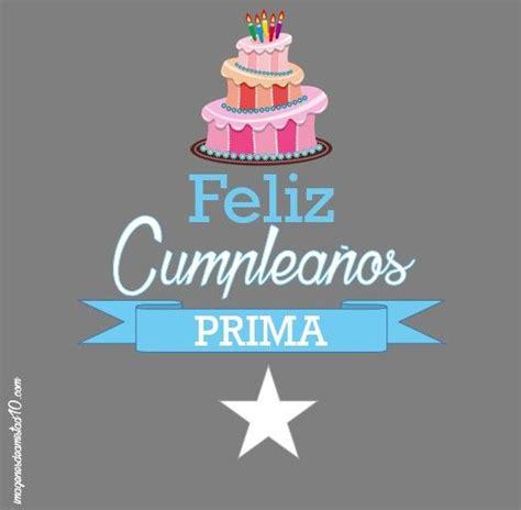imagenes de happy birthday para una prima 25 b 228 sta cartel feliz cumplea 241 os id 233 erna p 229 pinterest