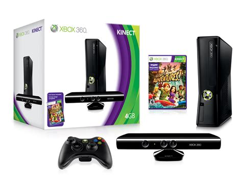 microsoft xbox 360 4gb console with kinect kinect pricing details new xbox 360 4gb console and