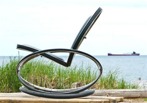 modulus lounge chair bike furniture design
