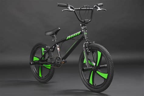 Bmx Freestyle freestyle bmx quot cobalt quot neon green mag wheels 360 176 rotor 20
