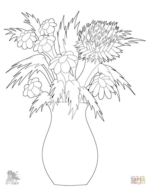view printable version peoplesoft unique vase coloring page pictures coloring pages for