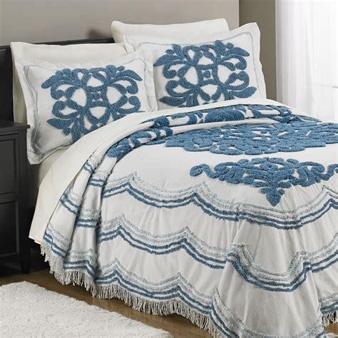 Fingerhut Comforters by Fingerhut Symphony Chenille Bedspread Set Home Decor