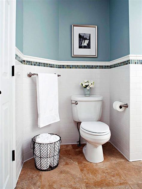 wainscot tile budget bathroom remodels in 2019 my home and garden reno