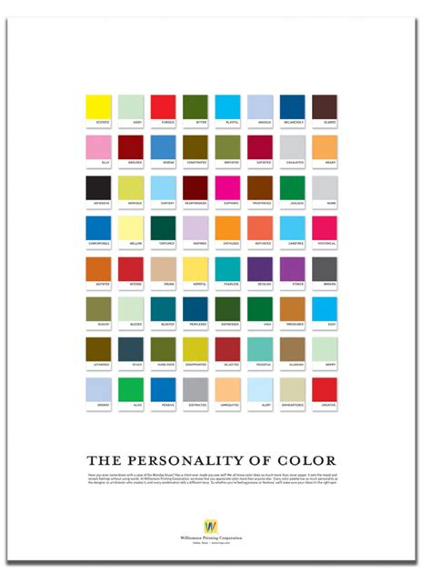 design poster colour personality of color poster frances yllana