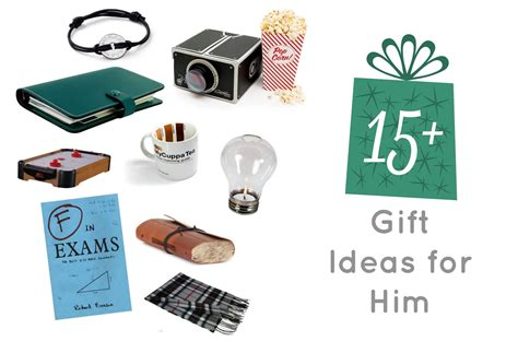 gift ideas for him present ideas for him great for all student