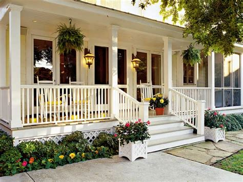 Southern Living Dining Rooms by House Stalking Wide Front Porch