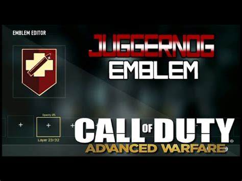 emblem maker call of duty call of duty advanced warfare juggernog emblem emblem creator