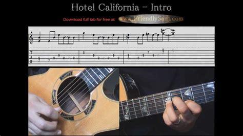 Tutorial Guitar Hotel California   guitar tutorial 5 the eagles hotel california intro