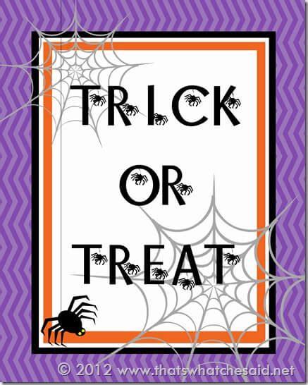 foiled trick or treat printable the happy scraps free halloween printables splendry