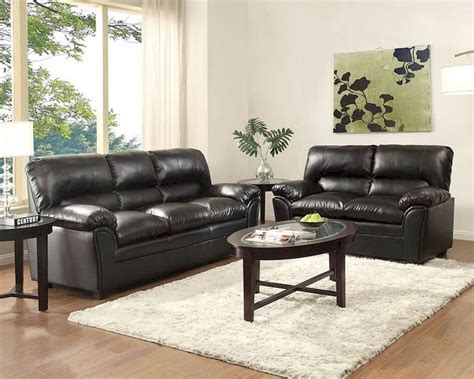 black sofa sets black sofa set talon by homelegance el 8511bk set