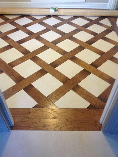 Small Bathroom Remodel Ideas Pinterest Wood And Tile Basket Weave Pattern Bathroom Redo Ideas