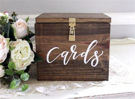 how to make a card box for wedding reception 35 rustic wedding card boxes and their alternatives
