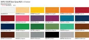 impressive duplicolor paint shop color chart 3 dupli