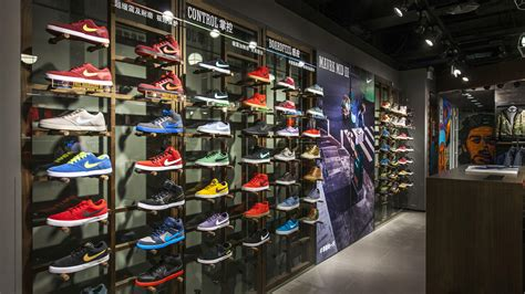sporting shoe stores nike s largest sports store in greater china opens