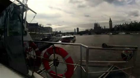 thames river cruise stops timelapse london thames river cruise youtube