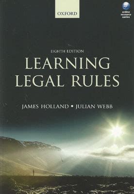 libro learning legal rules a wildy sons ltd the world s legal bookshop search results for isbn 9780199657490