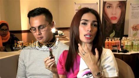 Lipstik Dissy Andika Pratama Dan Ussy tips warna lipstik tetap awett ala ussy sulistiawaty