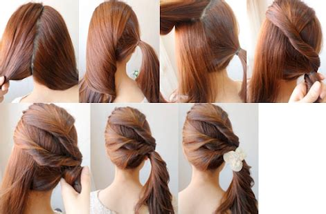 different hairstyles at home easy hairstyles android apps on google play