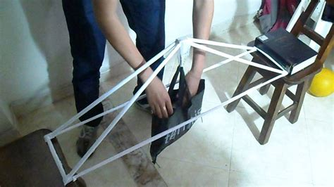 How To Make A Strong Paper Bridge - paper bridge quot truss competition 2013 quot epic fail