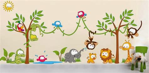 Where The Wild Things Are Wall Mural kids room interior wall decorations creative things