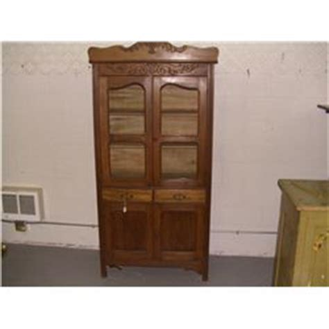 Antique Oak Kitchen Cabinet by Antique Oak Kitchen Cabinet With Applied Carving Ssr