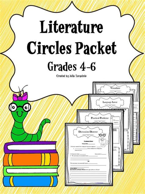 themes for literature circles literature activities and circles on pinterest