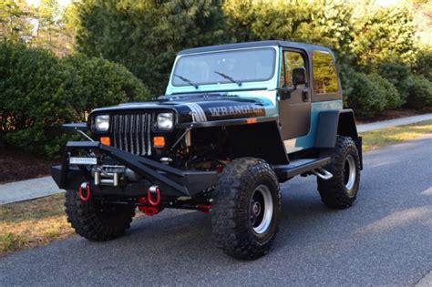 modified jeep wrangler yj meticulously modified 1990 jeep wrangler yj v8