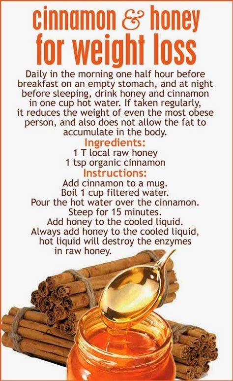 Honey Cinnamon And Water Detox by The Real Healthwives Cinnamon Honey Weight Loss