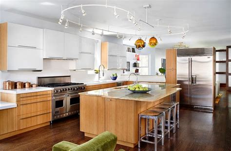 kitchen island track lighting gorgeous track lighting ideas for the contemporary home