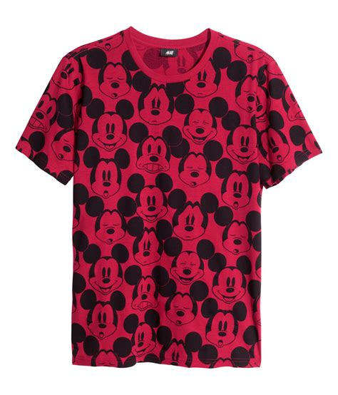 Hnm T Shirt by H M Patterned T Shirt In For Lyst