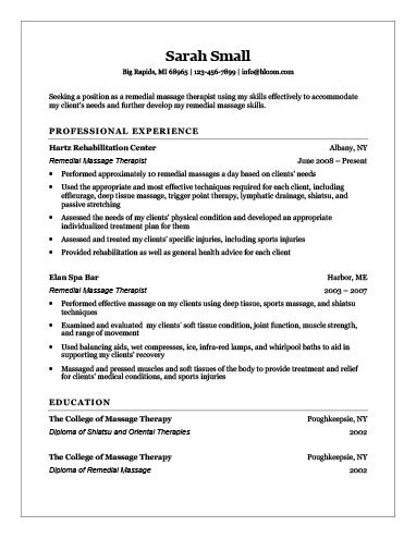 Massage Therapist Resume Images Download Cv Letter And Format Sle Letter Therapist Cv Template