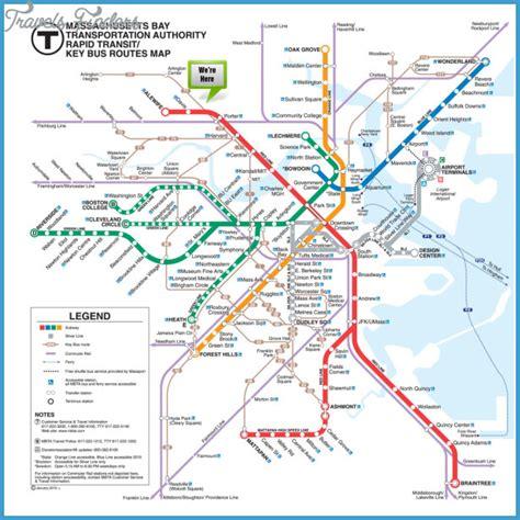 boston map subway boston subway map travelsfinders