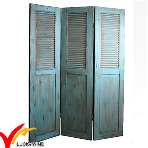 shabby chic room divider painted shabby chic country wooden folding