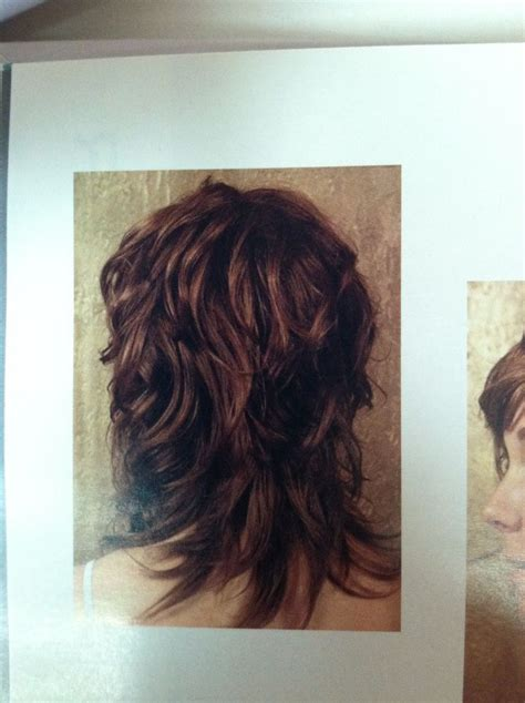 forward cut curly shag hairstyles shaggy haircut back view mudbgrgtx projects to try