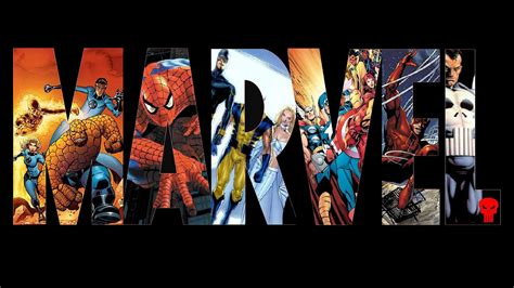 Marvel L by Marvel Logo Wallpaper