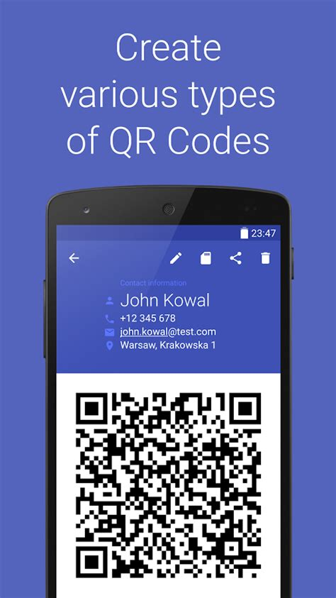Play Store Qr Code Generator Barcode Generator Android Apps On Play