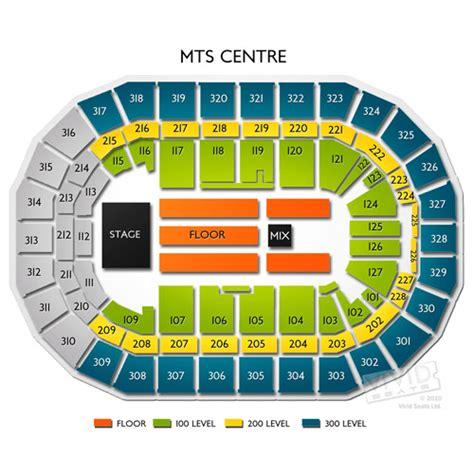 Bell Center Floor Plan by Mts Centre Manitoba Tickets Mts Centre Manitoba