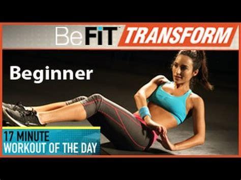 befit beginners beginners befit transform 17 min workout of the day beginner level